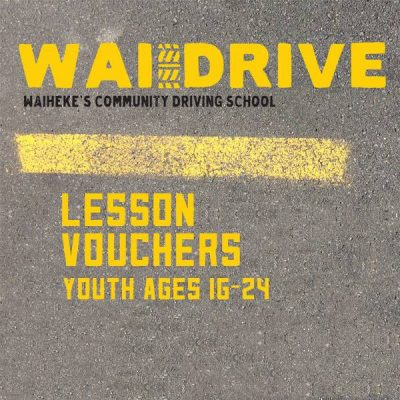 Youth Driving Lesson Vouchers