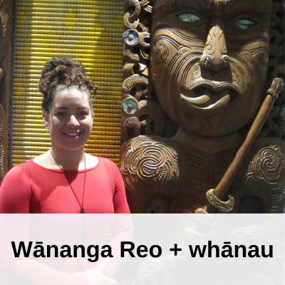 Wānanga Reo + whānau
