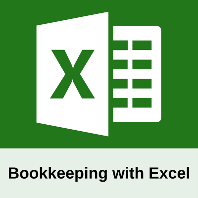 Bookkeeping with Excel bold