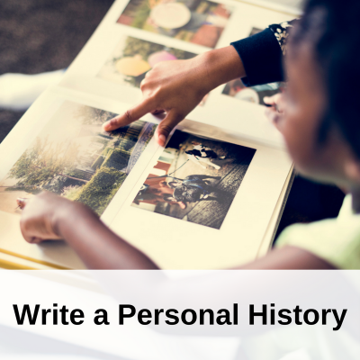Write a Personal History (1)